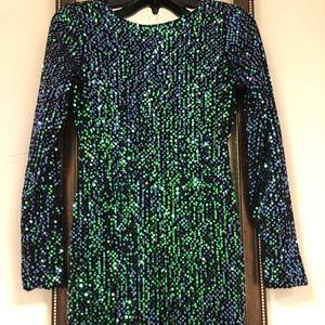 MOTELROCKS Gabby Sequin Dress